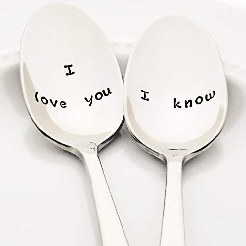 "Star Wars Inspired ""I Love You"" / ""I know"" 