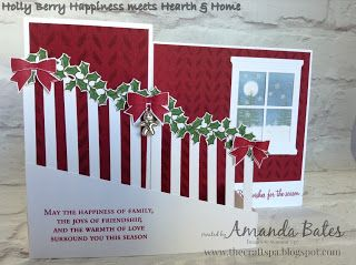 The Craft Spa - Stampin' Up! UK independent demonstrator : Double Z Fold Staircase Card