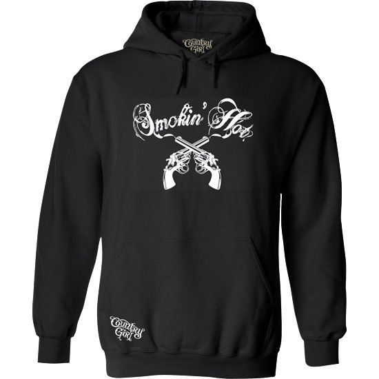 Country Girl® Smokin Hot Pullover Hoodie - Country Fashion Clothing
