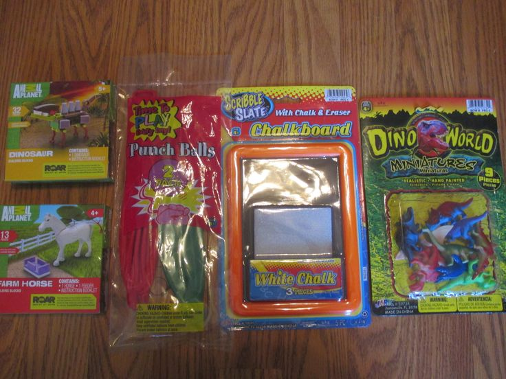 PERFECT for shoe boxes!  Dollar General sale- 10 small toys for $5.