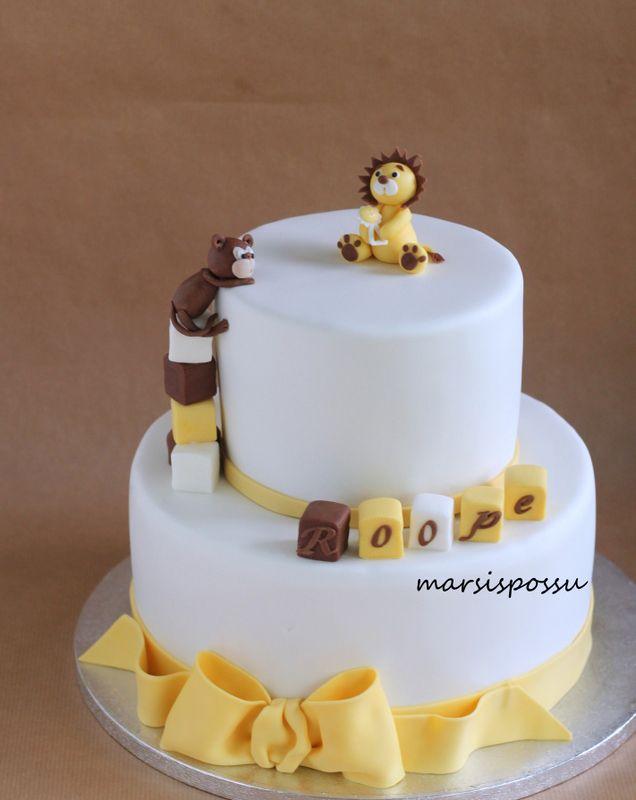 Marsispossu: Ristiäiskakku viidakoneläimillä, Jungle Chrinstening cake