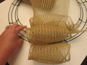 Finding Fairy Tales: DIY Project #3: Burlap Monogram Wreath & Bow Tutorial