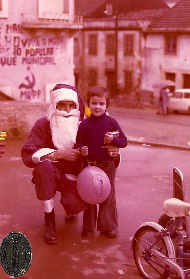 I never believed in Father Christmas