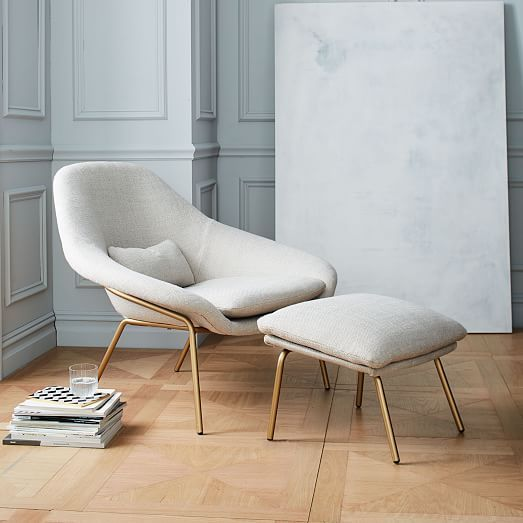 Bedroom Chair Office With Adjustable Back Rowan Ottoman H O M E Pinterest Upholstered Chairs And