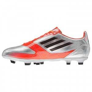 SALE - Adidas F10 TRX Soccer Cleats Mens Red Synthetic - Was $60.00 - SAVE $12.00. BUY Now - ONLY $48.00