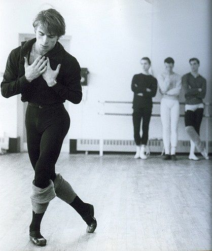 Rudolf Nureyev, considered the best of the best of all dancers all-time.