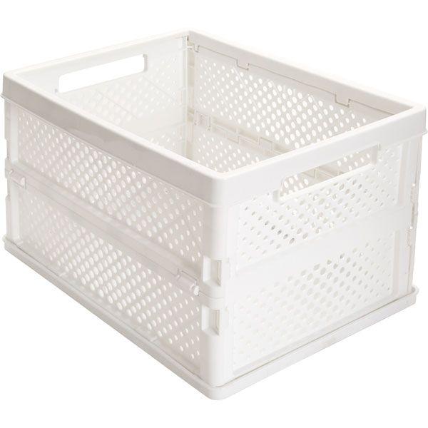 ニトリ たためる収納ボックス ビュレ ハーフ Wh 通販 ニトリ 収納ボックス 収納