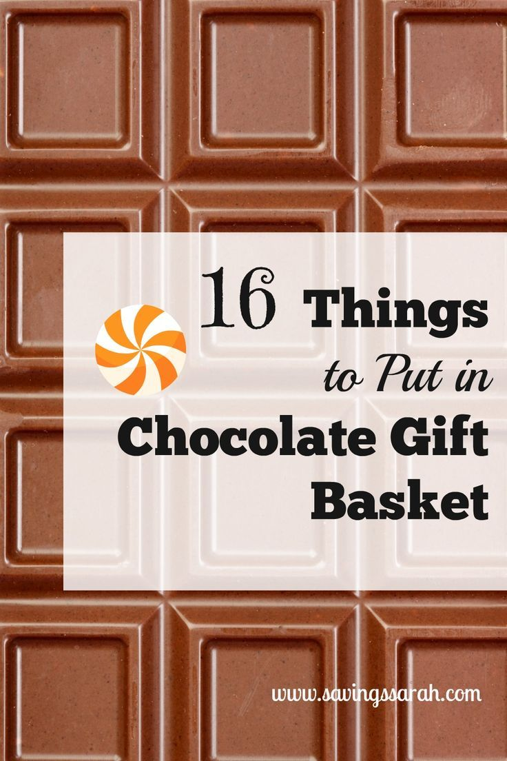 Chocolate is a food beloved around the world. Spread some of the chocolate love with these 16 Things to Put in Chocolate Gift Baskets. You will find both edible and non-edible goodies here.