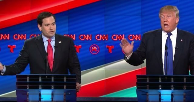 Republicans Hopes Crushed As Donald Trump Destroys Marco Rubio At CNN Debate