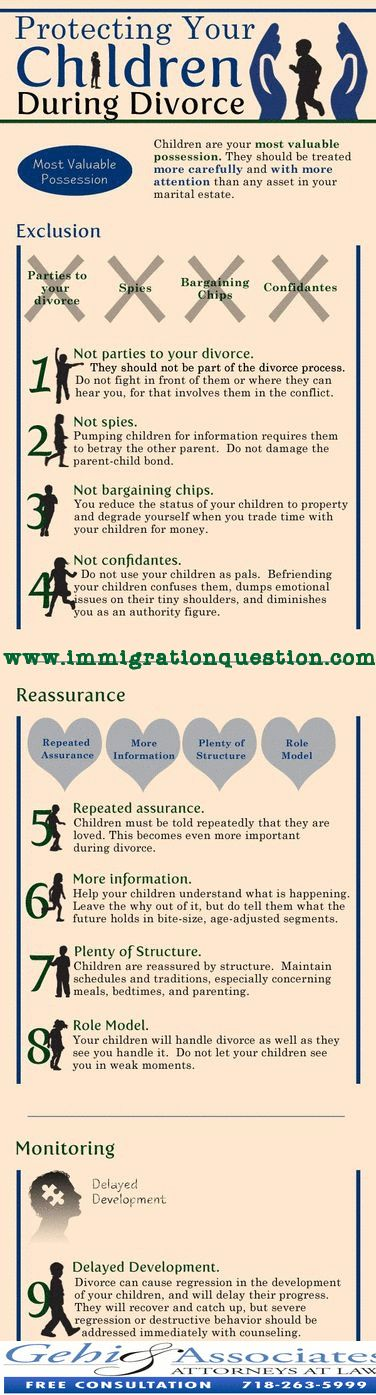 Tips for Protecting your Children During Divorce.