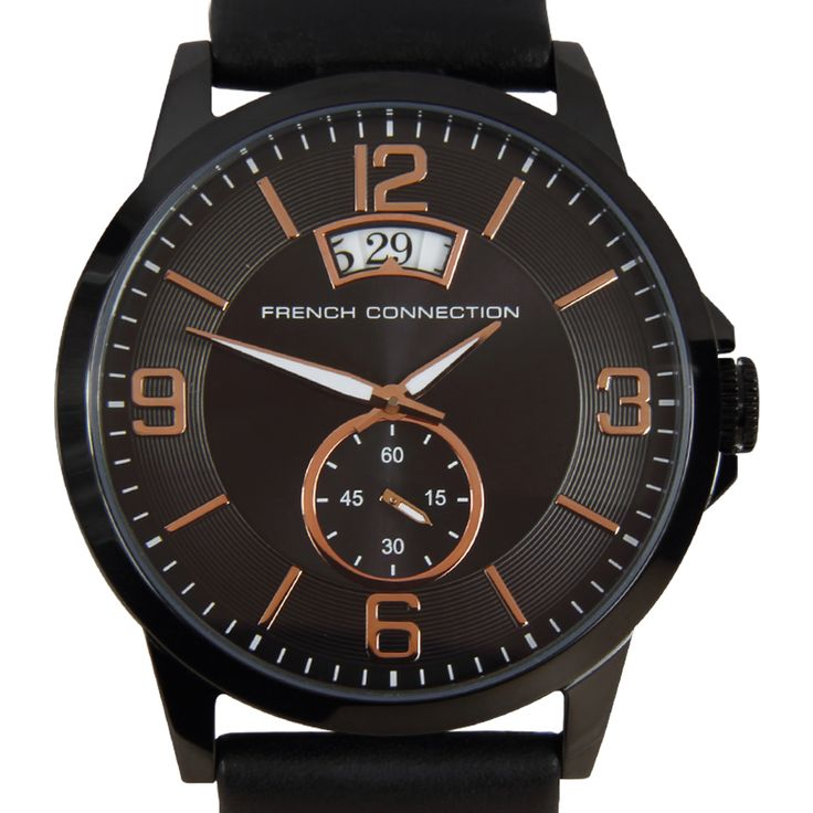 Chronograph-Divers.com - French Connection Quartz Analog Bronze Dial Mens Dress Watch FC1209BB, $148.00 (http://www.chronograph-divers.com/fc1209bb/)
