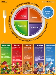 MiPlato Spanish Poster - website has lots of Spanish brochures and posters