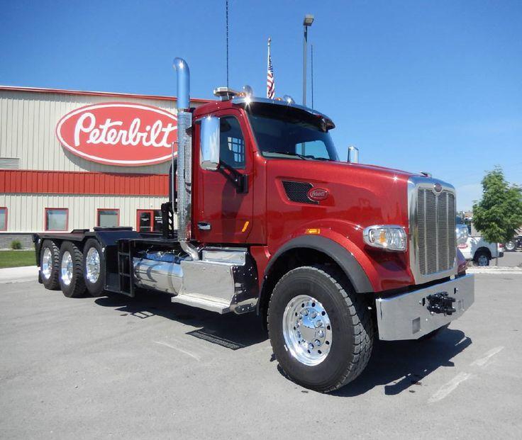 2016 Peterbilt 567 Winch New Truck New trucks