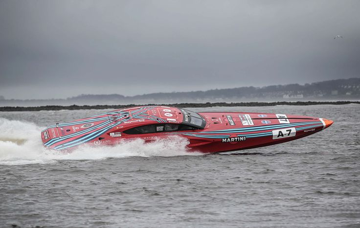 Vector Martini turns in Dublin Bay | Venture Cup Race