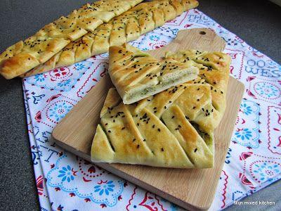 Mijn mixed kitchen: Içli örgü ekmek (zachte gevulde gevlochten broodje...