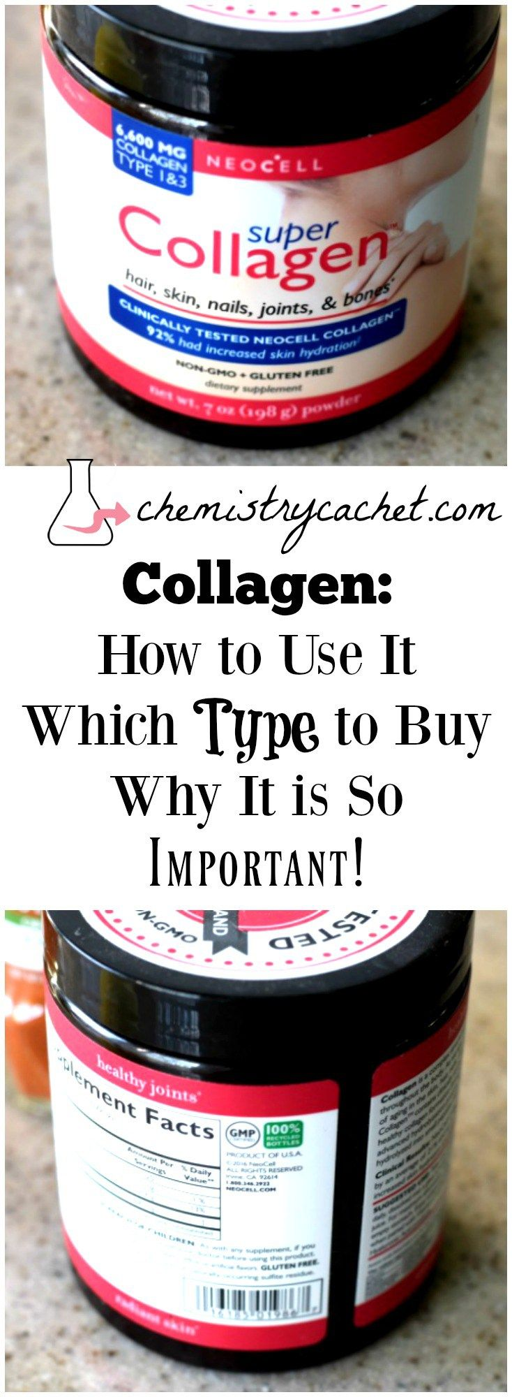 The function of collagen and why you should take collagen as a supplement. Plus how to use it and the best type of collagen to buy on chemistrycachet.com