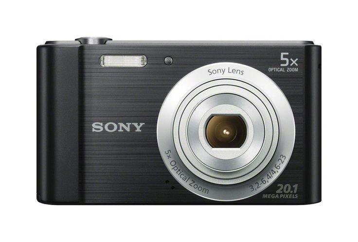 Amazon.com : Sony DSCW800/B 20.1 MP Digital Camera (Black) : Camera & Photo