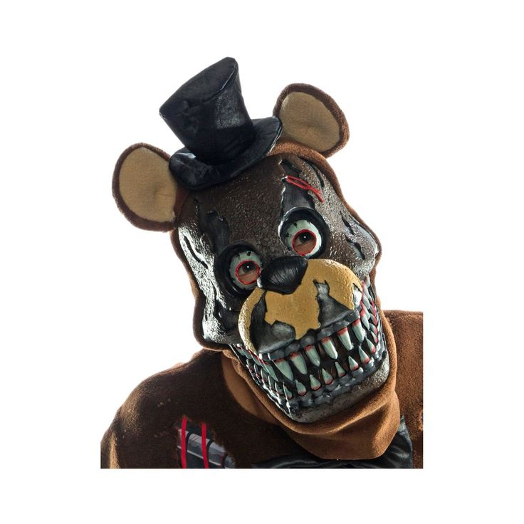 Adult Five Nights at Freddy's Nightmare Freddy Mask, Men's, Multi-Colored