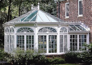 The small hall connecting the house to the conservatory is something to consider.