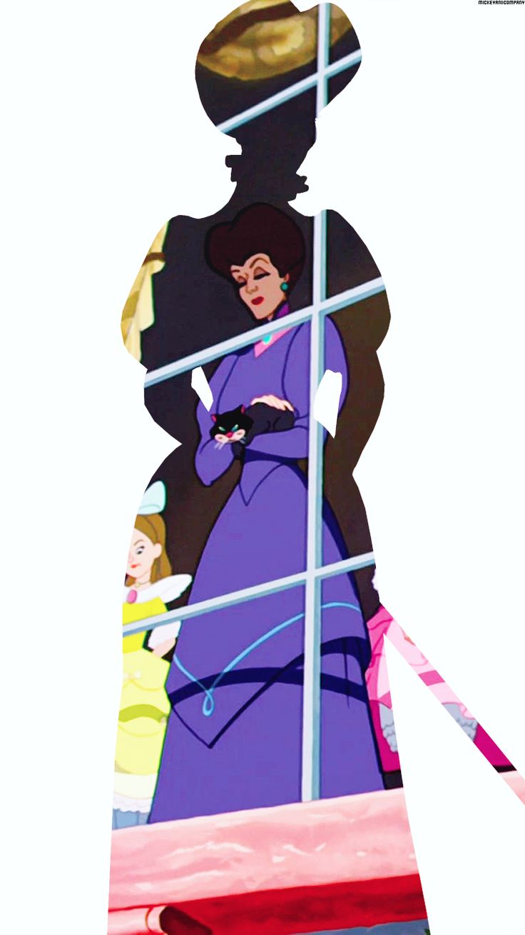Lady Tremaine silhouette