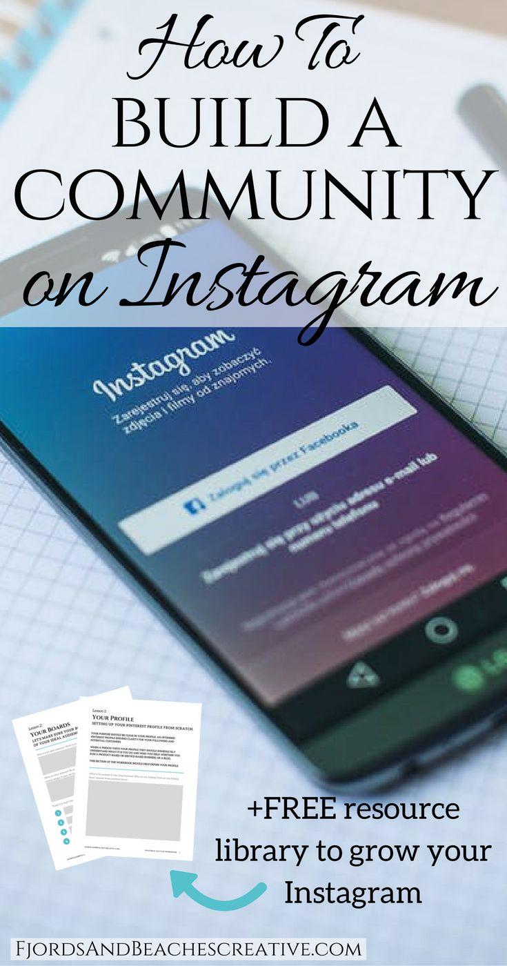 Build a community on Instagram, instagram tips, #Instagram, #Instagramtips how to instagram