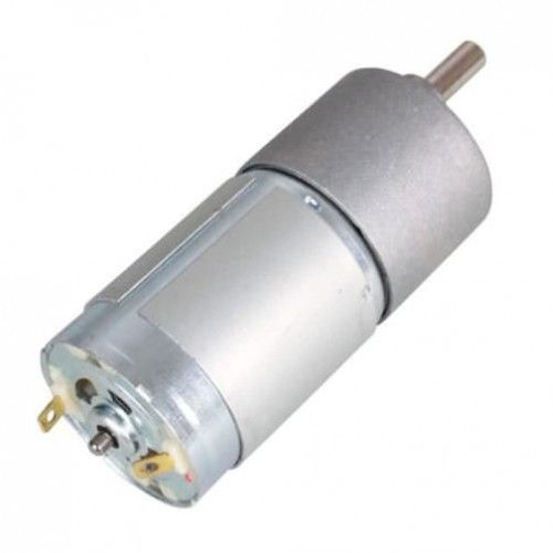 The gear motor standards used as a part of a crane are very same as those used as a part of the case electric time clock. Robomart huge discount on gear motors such as center shaft gear dc motor, high torque 12 volt dc gear motor 150 rpm, plastic gear motors, Johnson gear motor at reasonable prices in all over india.