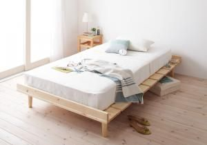 北欧デザイン天然木すのこベッド【noora】ノーラのイメージ