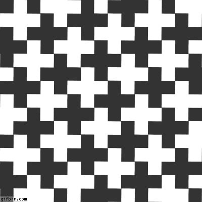 36 Awesome optical illusions gif is the backround color white or black????