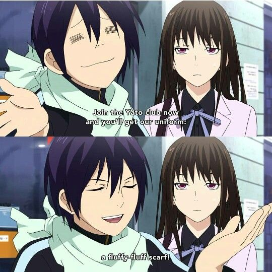 hiyori and yato relationship memes