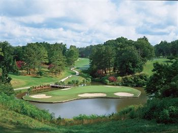 The Golden Horseshoe golf course, Colonial Williamsburg's three beautiful and challenging courses