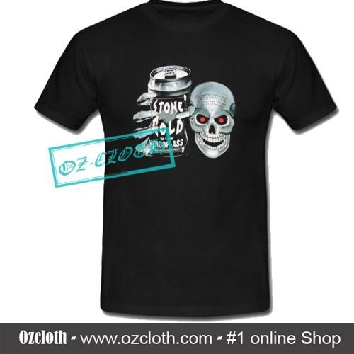 Stone Cold Steve Austin 100% Pure Whoop-Ass Skull T-Shirt