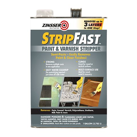 Paint & Varnish Stripper is designed to remove up to 3 layers of finish in just one application. Removes paint, enamel, varnish, polyurethane and more.