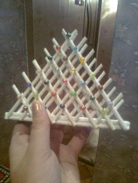 Идеи по использованию обрезков трубочек . | Плетение из газет