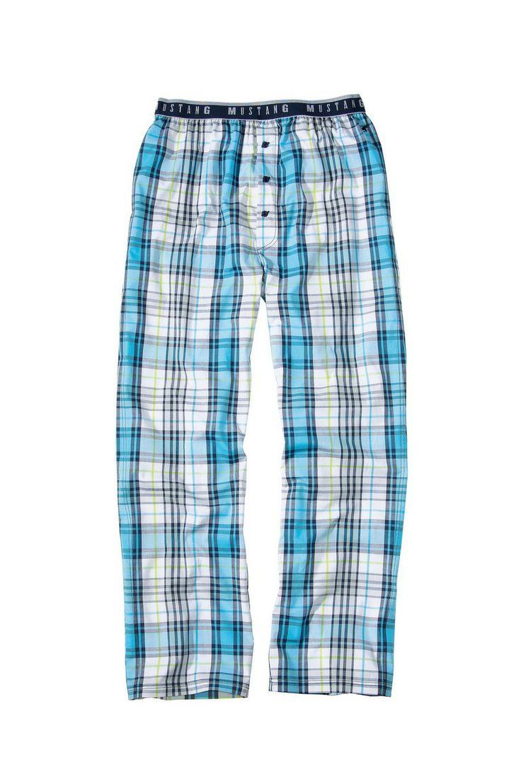 Pánske pyžamové nohavice 5523_1700_526 modrá - Pyžamká a župany