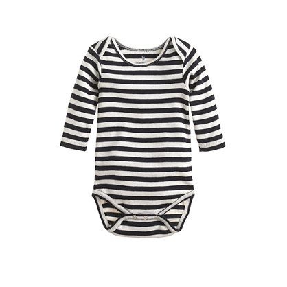 Baby one-piece in stripe - one pieces - shop_by_category - J.Crew