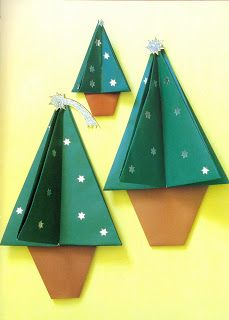 Origami Christmas Trees http://www.unitednow.com/search.aspx?searchterm=origami