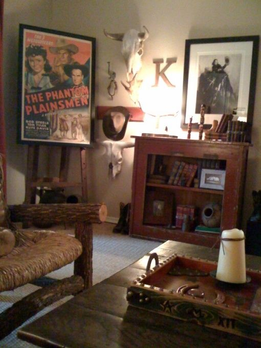 25 best ideas about vintage western decor on pinterest rustic furniture southwestern - Western decor ideas for living room ...