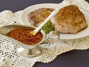 Маринад для свинины в духовке, рецепт с фото
