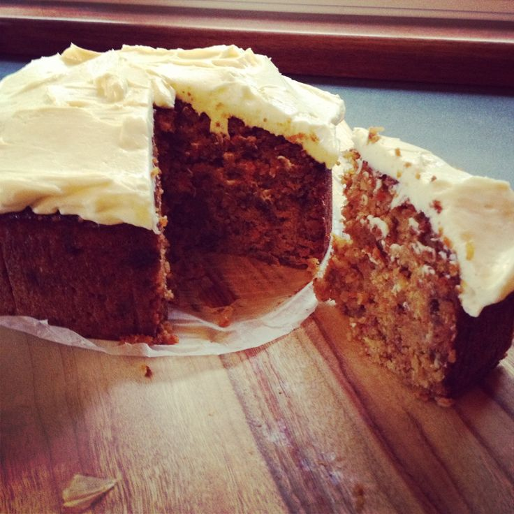Recipe Flour-less carrot cake with cream cheese icing by keziasimone - Recipe of category Baking - sweet