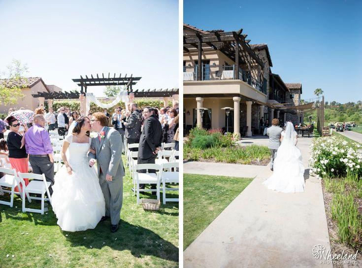 Aliso Viejo Country Club Wedding Flower Girls