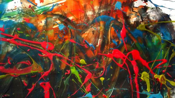 Peinture sensorielle Gouache + Musique Guillaume Perret & Electric Epic