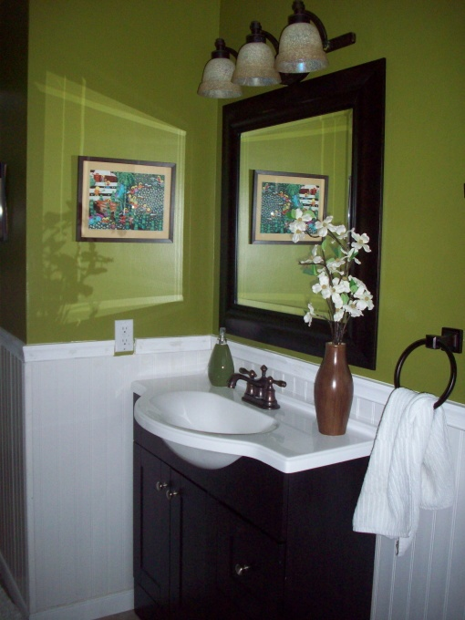 Light Green Bathroom Awesome Decorating Design