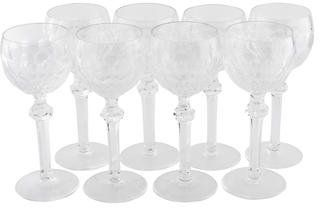 Waterford Crystal 8-Piece Curraghmore Wine Hock Glasses