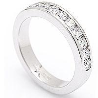 Alliansering Nobile II 0,80ct - Stilren og solid - Nobile II Alliansering 0,80ct diamanter tw/vs