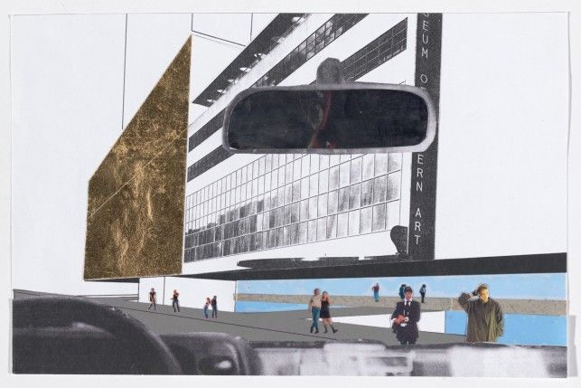 Architectural Firm: O.M.A., Artist: Rem Koolhaas, Charrette Submission for The…