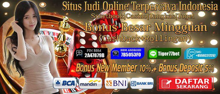 Agen Tiger77 menawarkan Daftar Situs Live Roulette Terpercaya kepada anda para bettor di Indonesia dengan minimal deposit 100ribu anda bisa mendapatkan bonus 5%