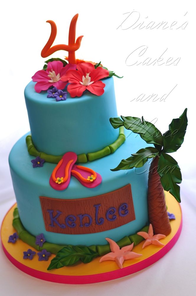 247 best Beach Tropical Nautical Theme Cakes images on