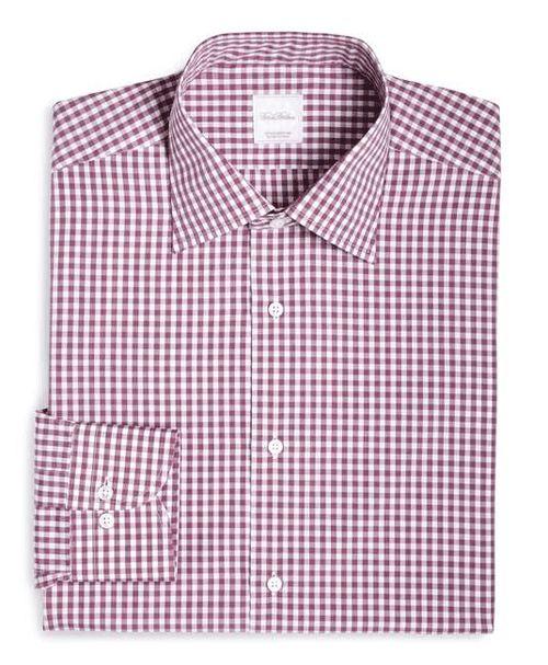 Brooks Brothers | Gingham Woven Dress Shirt #brooksbrothers #buttondown #shirt