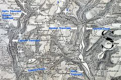 Blackwood / Crumlin / Newbridge - Ordnance Survey Map - 1829
