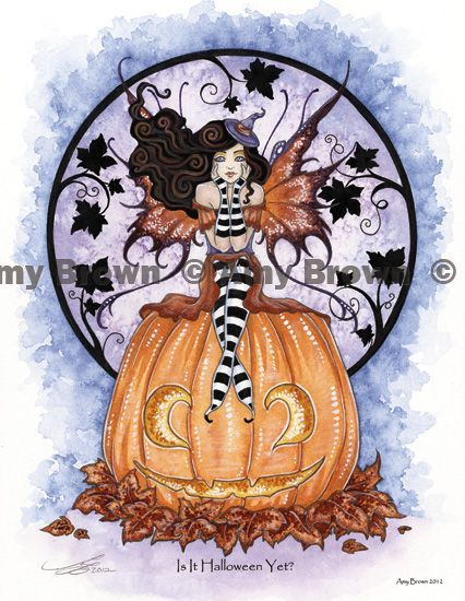 halloween amy brown fairies | Amy Brown: Fairy Art - The Official Gallery | Halloween